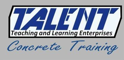 Talent Concrete Training Logo